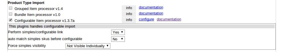 Configurable Item Processor